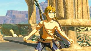Zelda Breath of the Wild :gameplay no cemu 1 9 1 30 FPS 1080