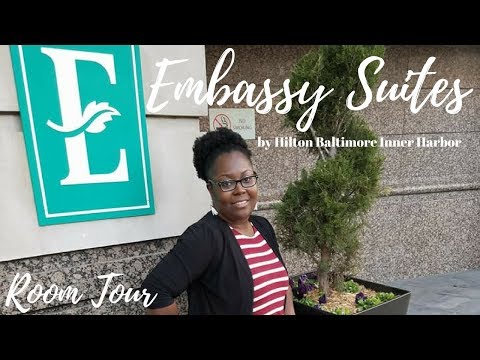 Embassy Suites By Hilton Baltimore Inner Harbor I Room Tour