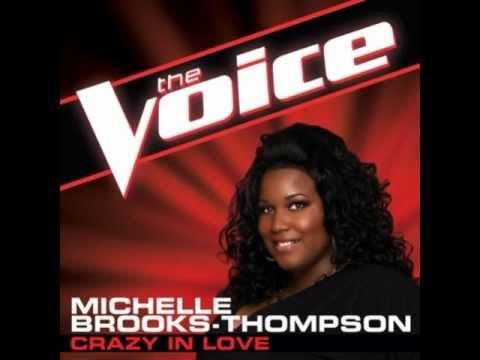 "Michelle Brooks-Thompson: ""Crazy In Love"" - The Voice (Studio Version)"