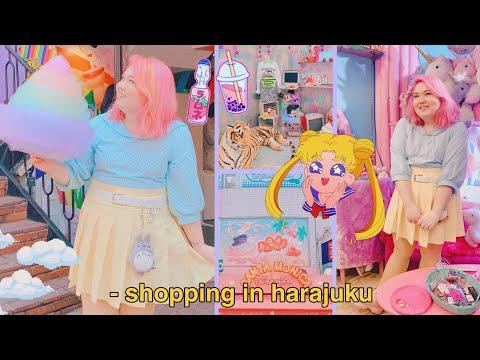Shopping In Harajuku & The Sailor Moon Store | Japan Vlog 3