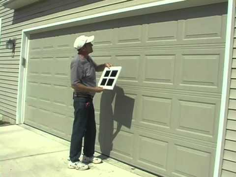 How To Measure For Faux Garage Windows Youtube