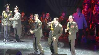 The Red Army MVD Choir in Tel Aviv -  Get Lucky Video