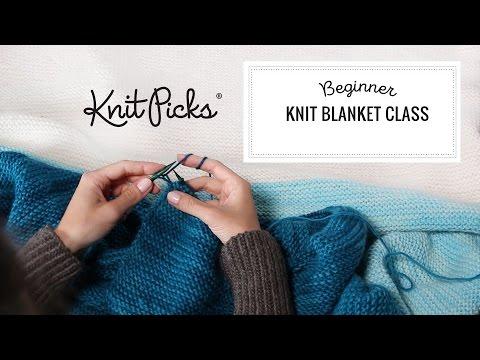 Beginner Knit Blanket Cl Full Cl