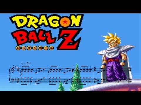 Gohan Theme - Dragon Ball Z Super Butouden 2 Arranged Sountrack (piano Sheet Music)