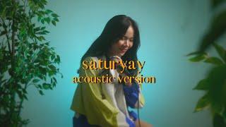 Karmun Ooi 黄嘉文〈saturyay〉acoustic version