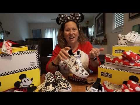 New Disney Vans Tennis Shoes 10/5/2018