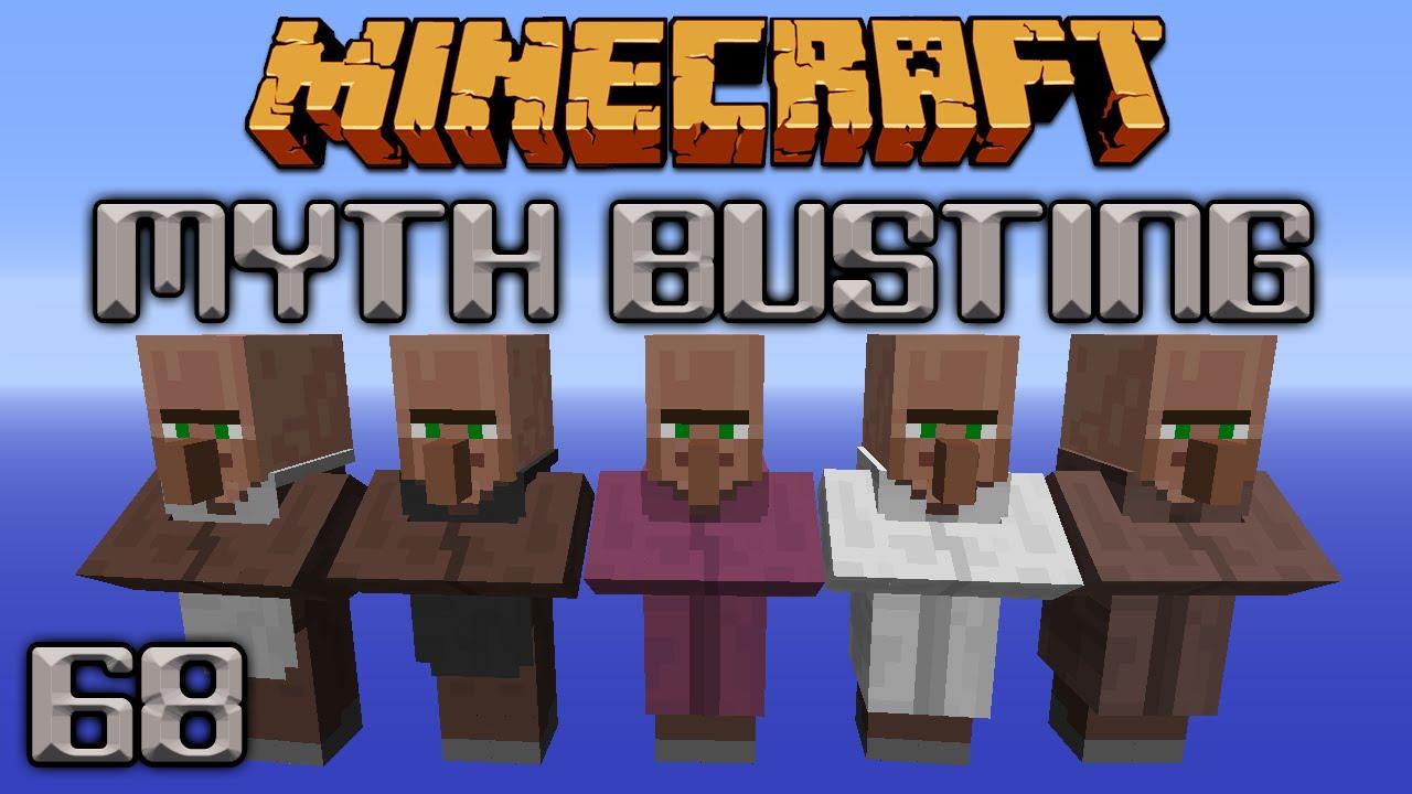 Villager Jobs Breeding Bias [Minecraft Myth Busting 9]