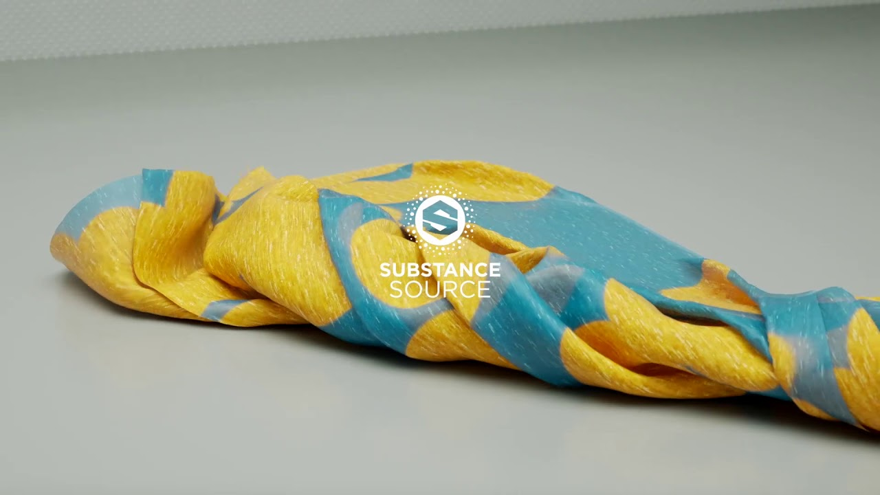 Andreas Barden Explores Substance Source Tweakable Fabrics