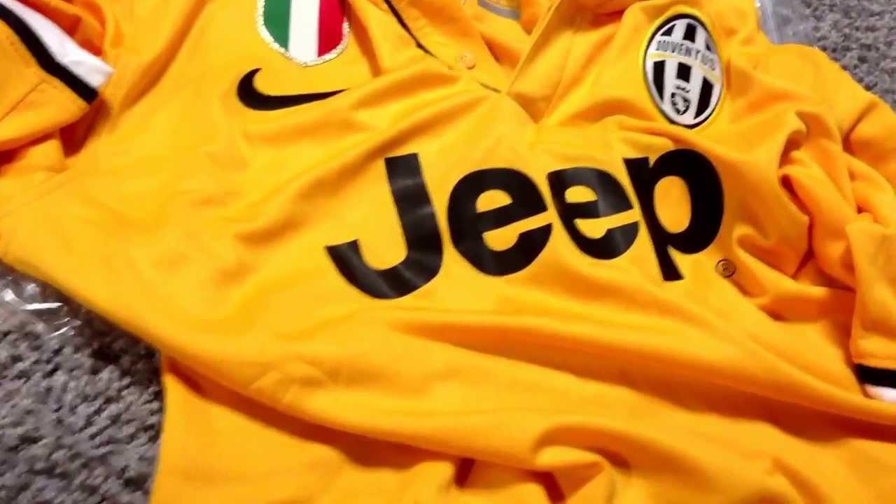 1a6f2a7c1 GoGoalShop.com Review: 13-14 Juventus Away (part 2) - YouTube