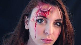 GOLPE EN LA FRENTE - Makeup FX