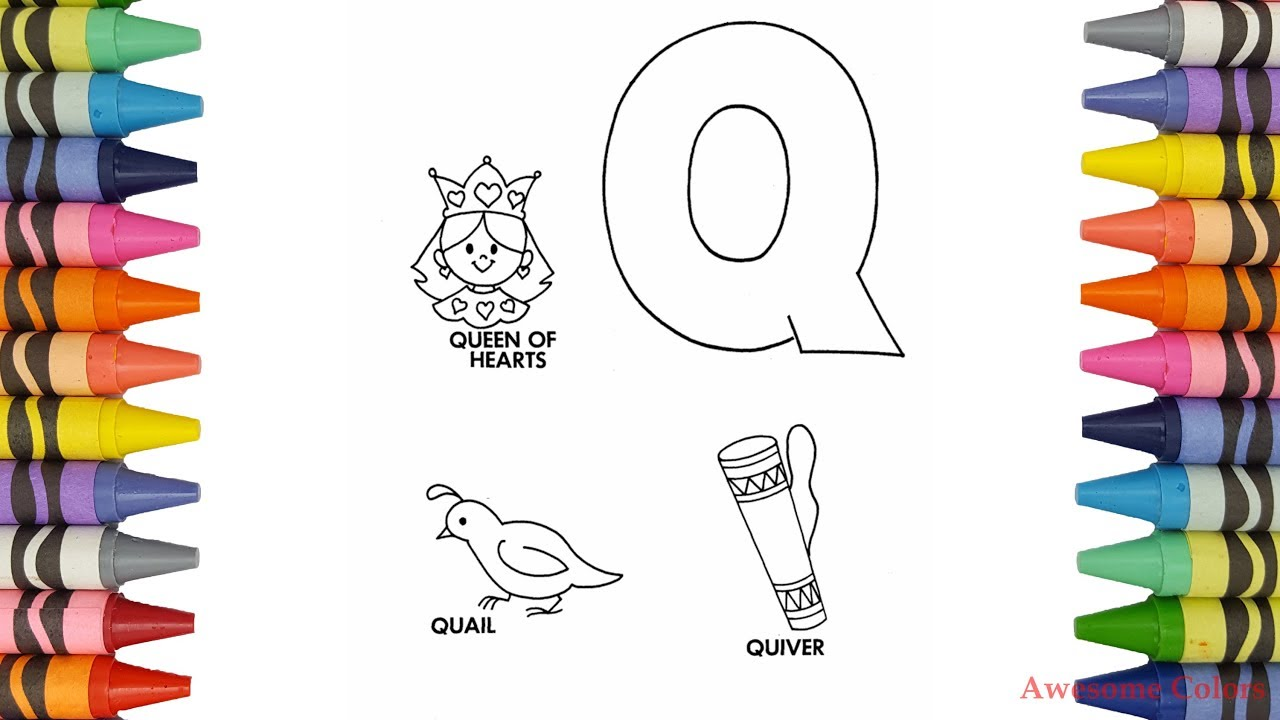How To Color A Quail Queen Quiver