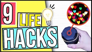 9 NEUE LIFE HACKS, die DU kennen MUSST! Sommerhacks, Handyhacks, Tumblr Hacks & DIY Hacks! Deutsch