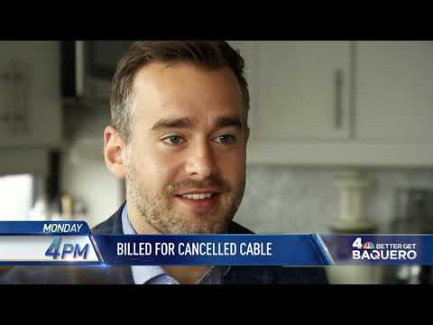 """News 4 New York: """"Better Get Baquero: Billed for Cancelled Cable"""" promo"""
