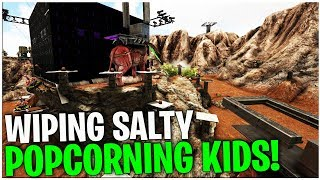 WIPING SALTY POP-CORNING KIDS!  - Official Small Tribe PvP | Ark Survival Evolved Ep33