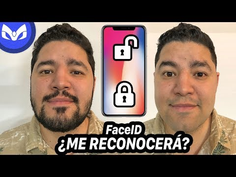 iPhone X Face ID vs CAMBIO DE LOOK ?