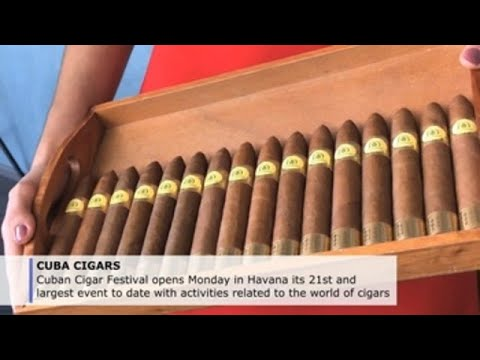 Largest Cuban Cigar Festival to date opens in Havana