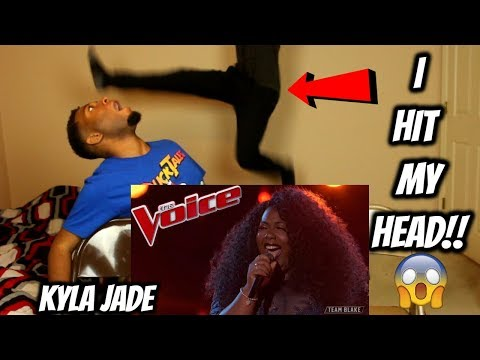 """The Voice 2018 Kyla Jade - Top 12: """"One Night Only"""" (REACTION)"""