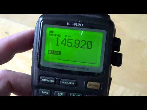 Introduction to the 2 meter amateur radio band 144 to 148 Mhz