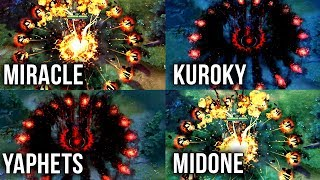 Best Shadow Fiend Players on EPIC Battle - Dota 2 Compilation - WHO IS THE BEST?