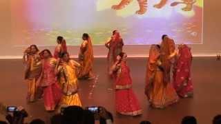 Gujarati Garbo at Shishir Parv at Fort McMurray