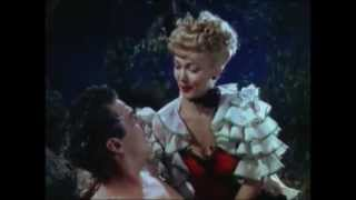 Carole Landis Rescues Victor Mature ~ My Gal Sal