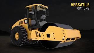 Cat® CS10 GC, CS11 GC, CS12 GC Vibratory Soil Compactors Introduction