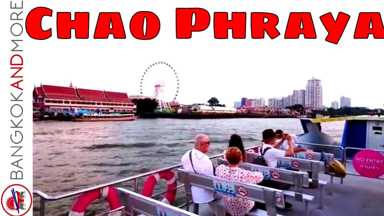 CHAO PHRAYA RIVER Tourist Boat Trip - Full Tour - From Phra Arthit Pier To Asiatique, The Riverfront