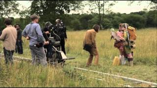 Fourth b-roll of four from moonrise kingdom. provides a compilation behind the scenes footage film.