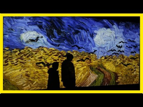 «van gogh experience», il pittore olandese in 3d. come non lo avete mai visto