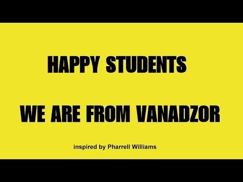 Happy Students: We are from Vanadzor