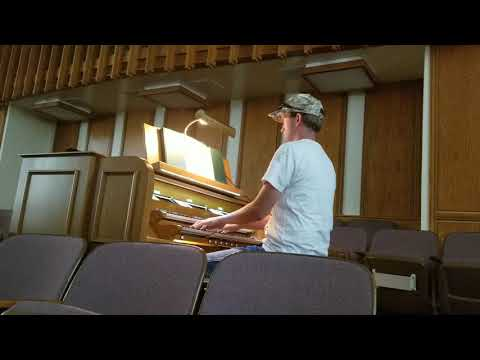 Organ Solo. Because I Have Been Given Much / I Would Follow Thee.