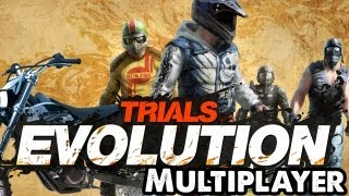 Trials Evolution Online Multiplayer (Xbox 360 Gameplay) Let's Play