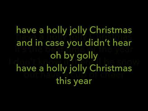 Kidz Bop Christmas- Have A Holly Jolly Christmas (Lyrics)