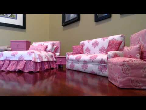 Barbie furniture patterns Diy Susies Barbie Furniture Youtube Susies Barbie Furniture Youtube