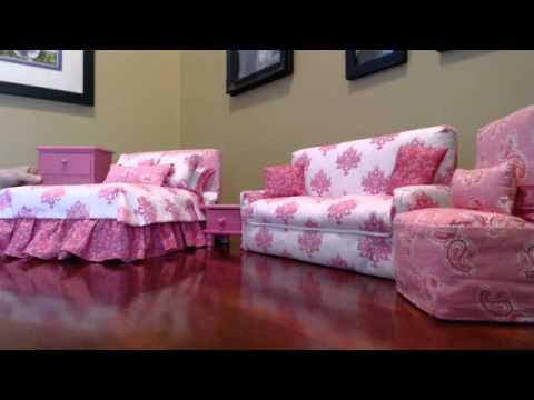 Susie's Barbie Furniture - YouTube