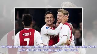 FC Barcelona bestätigt Verpflichtung von Ajax-Juwel Frenkie de Jong
