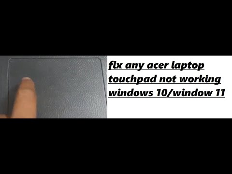 Acer Aspire E5-574G Synaptics Touchpad Driver for Windows