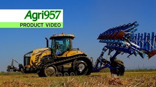PRECISION PLOUGHING by SPEKTRA AGRI - VANTAGE ITALIA | CHALLENGER MT775E and LEMKEN | ProductVideo