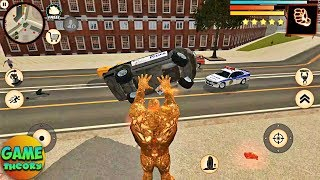 Stone Giant Throw Away The Police Car ( by Naxeex )#38 Game Android GamePlay FHD