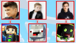 YOUTUBER AM MINECRAFT SKIN ERKENNEN