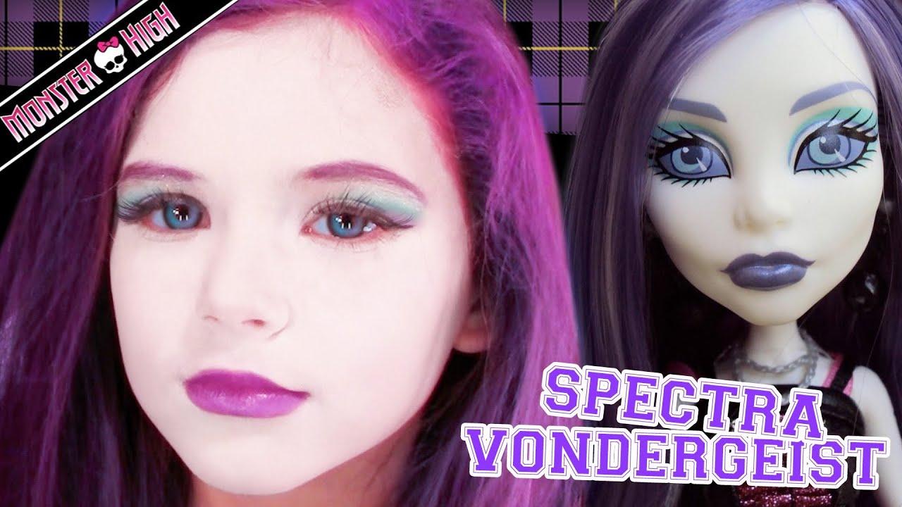 Spectra vondergeist monster high doll halloween costume makeup spectra vondergeist monster high doll halloween costume makeup baditri Gallery