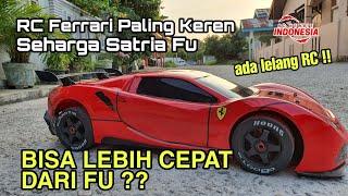 RC Ferrari Paling Keren Seharga Satria Fu Lebih Cepat dari Fu?