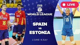 Spain v Estonia - Group 3: 2017 FIVB Volleyball World League