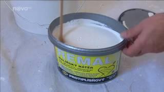 Jak postupovat při renovaci zdí a nátěrů ve starém bytě - REMAL SANAL NA ZDIVO, ...
