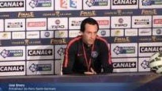 PSG - Unai Emery «UN GROS DÉFI CONTRE MONACO»