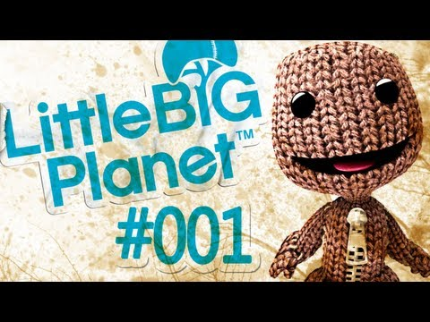 Let's Play - Little Big Planet [HD][Deutsch] - #001 Erste Sc