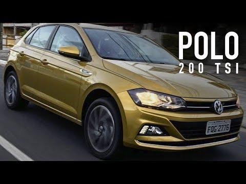 Avaliação em detalhes com o VW Polo 2018 200 TSI Highline