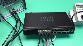 Cisco SG112-24 24 port 1GbE switch unboxing and a little watt burn testing
