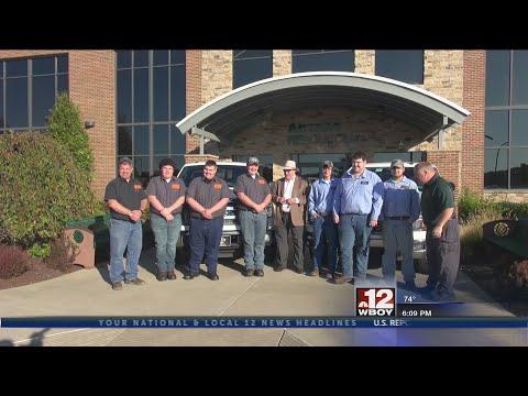 Antero Resources donates 10 trucks to United Technical Center