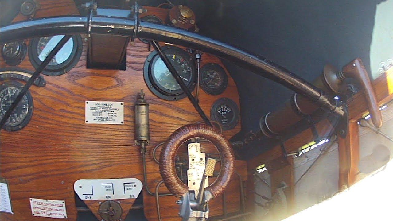 Cockpit Bristol Fighter F2b 1917 Youtube